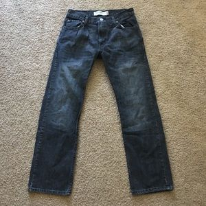 Levi's 505 Black Jeans Size 30x30 Straight Fit